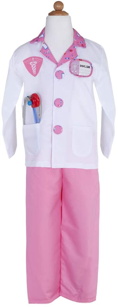 Great Pretenders 81210, Doctor Set Includes 8 Accessories, Pink, US Size 5-6
