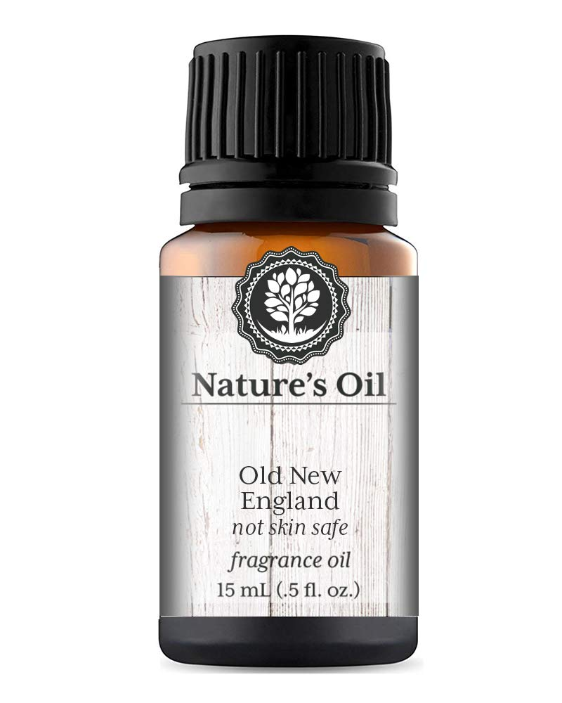 Old New England Fragrance Oil (15ml) For Diffusers, Candles, Home Scents, Linen Spray, Slime