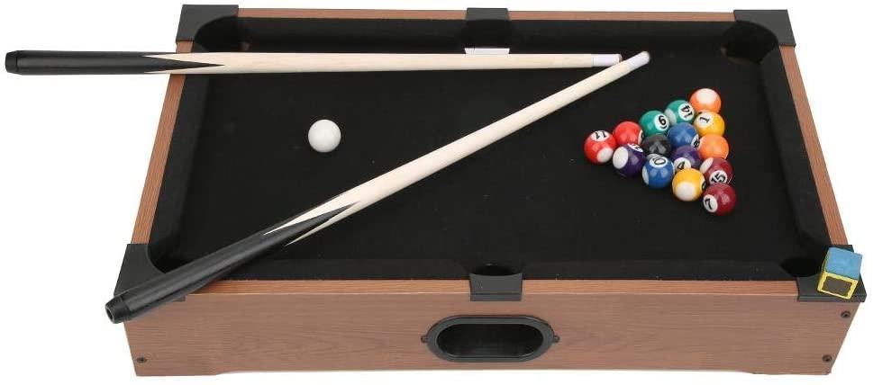 Xinwoer Sturdy Durable 2565g Mini Billiard Toy, Desktop Billiards Sets, Children Pool Toy, for Parent-Child Toy Sports Children Boy Billiards Lovers Home Playing