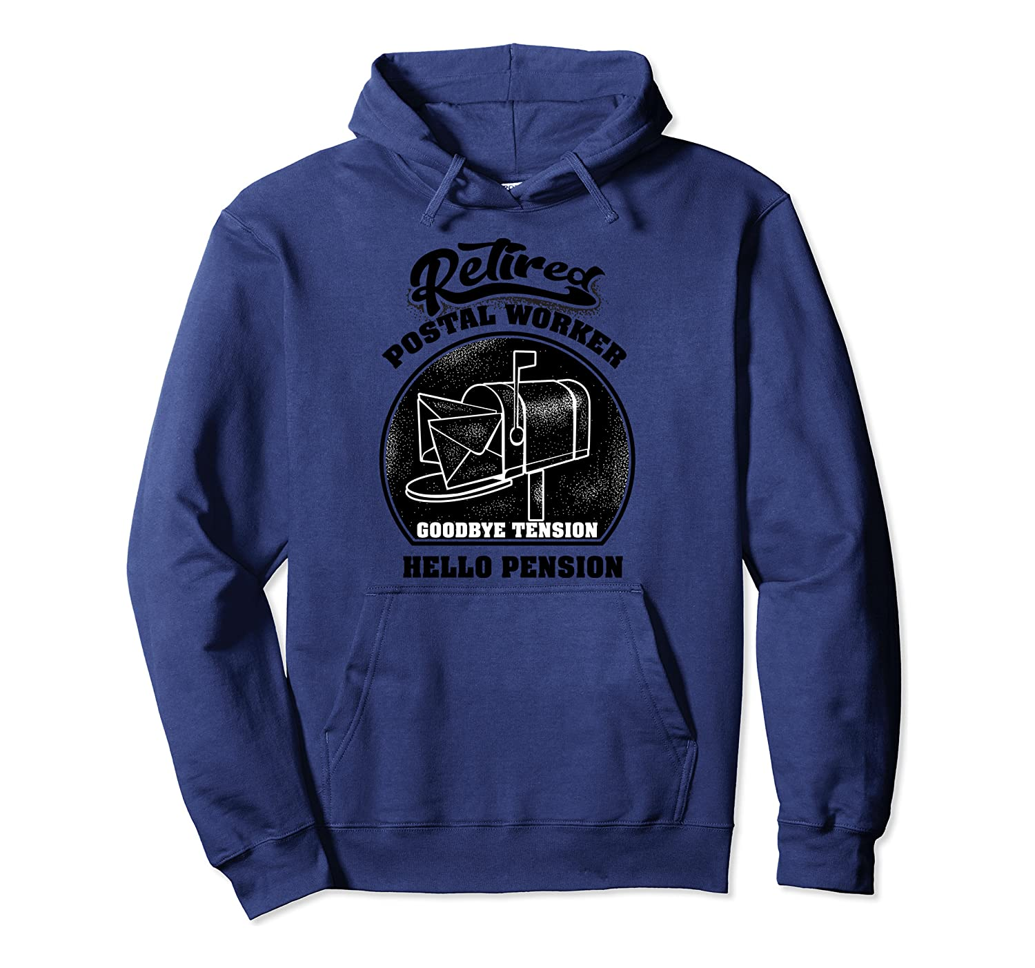 Retired Postal Worker   Cute Mail Carrier Gift Pullover Hoodie