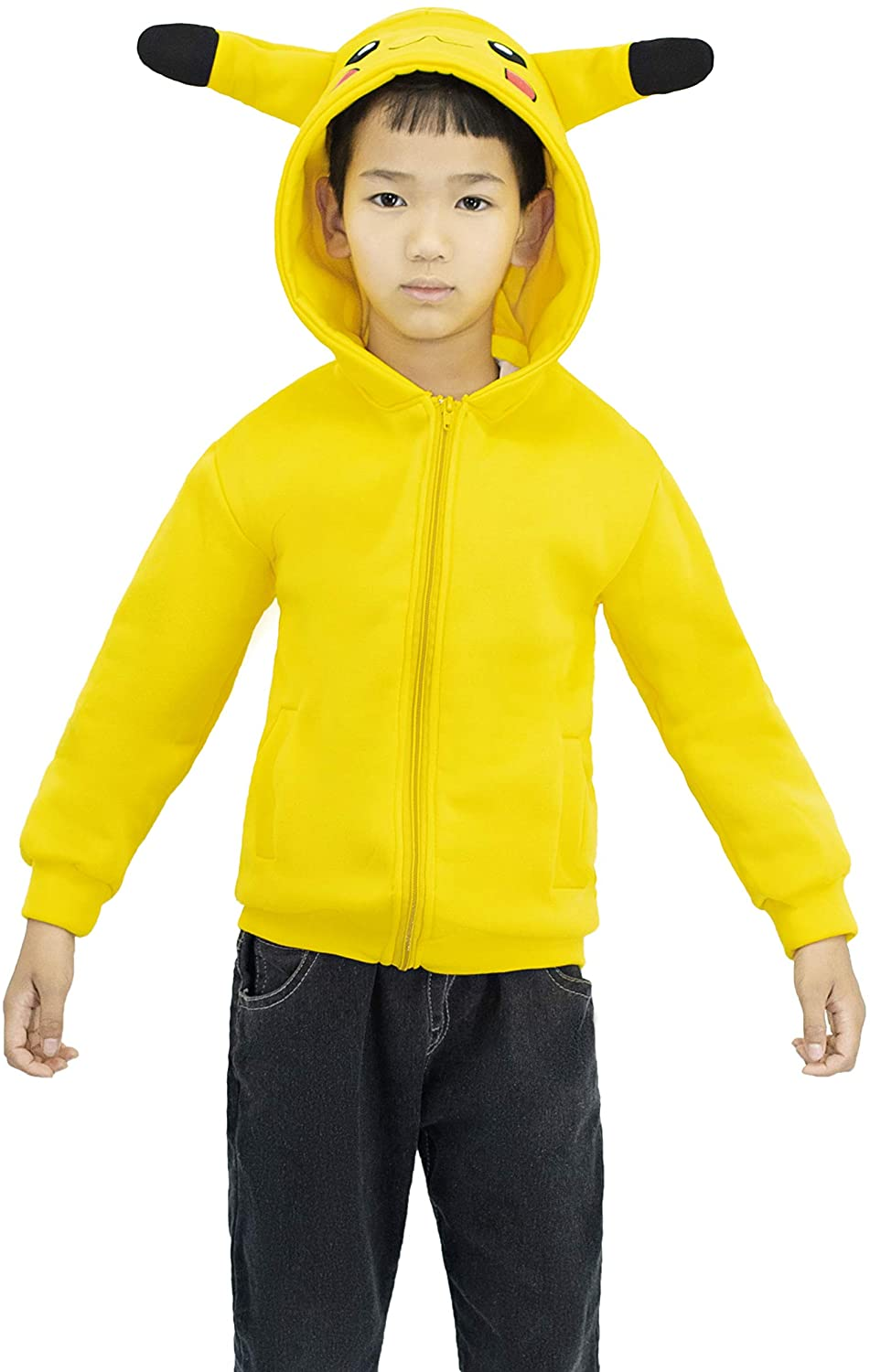 Cosplay Costume Cute for Child Yellow 120-140cm (140)