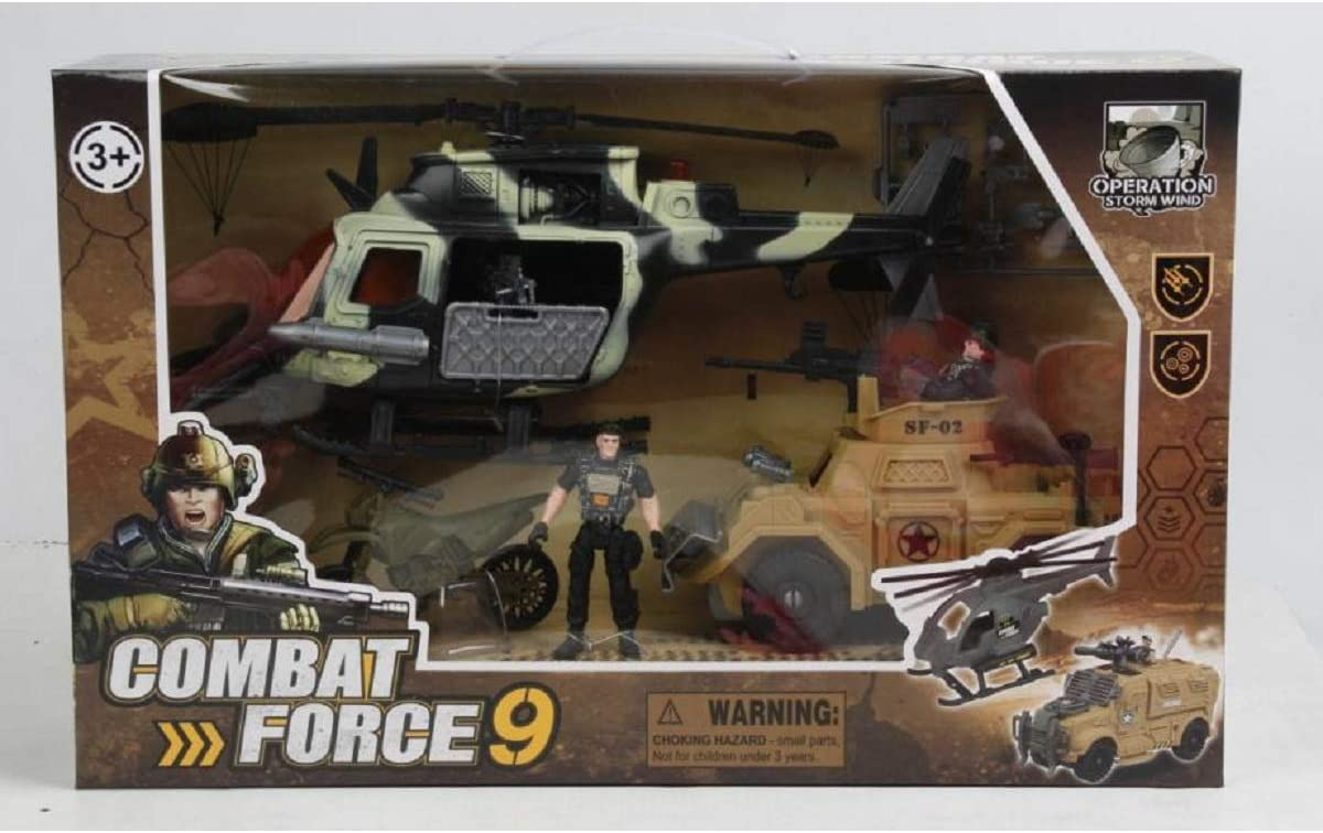 Nutcracker Factory Combat Force Operational Military Playset Children's Toy