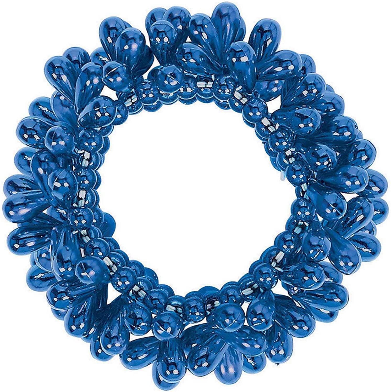 Amscan 397495.2 Blue Drop Bead Bracelet, Party Accessory, 1 piece