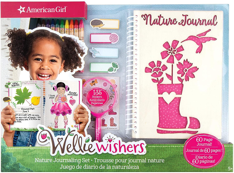 American Girl Wellie Wisher Nature Journaling Set