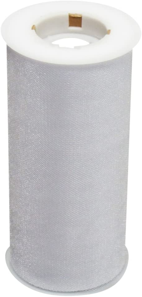Ribbon Bazaar Gala Sparkle Tulle 54 inch White 40 Yards 100% Polyester Ribbon