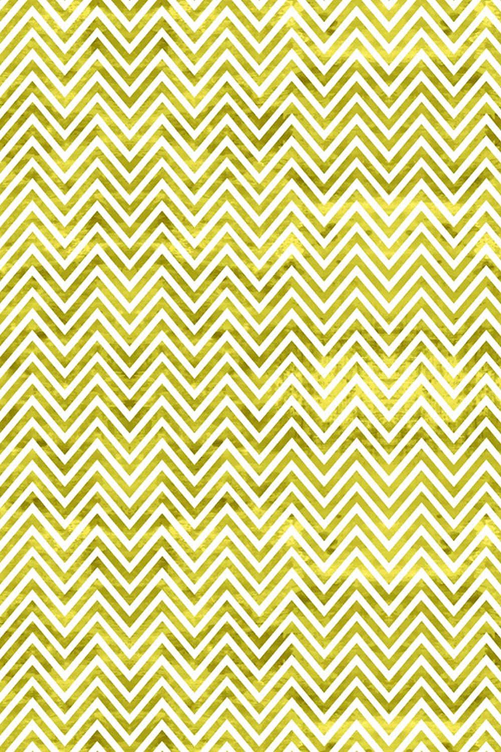 Gold Color Chevron Pattern with Rustic Accent Grunge Heat Transfer Vinyl Sheet for Silhouette 12