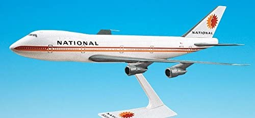 Flight Miniatures National Airlines 1967 Boeing 747-100/200 1:250 Scale REG#N77772 Display Model with Stand