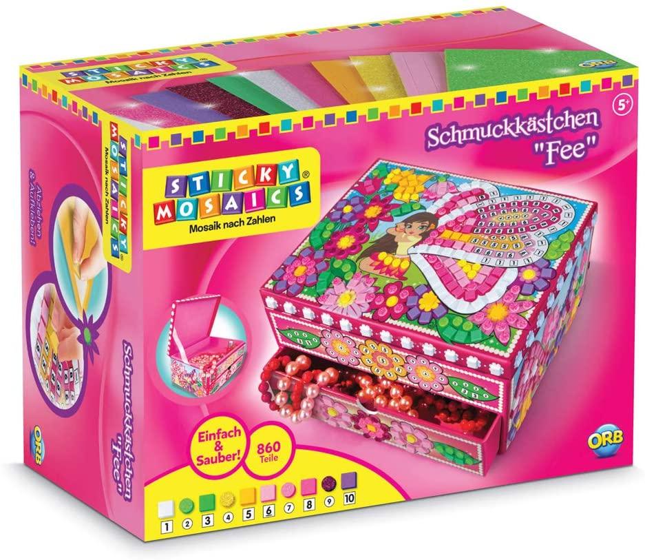 The Orb Factory Sticky Mosaics Fairy Box