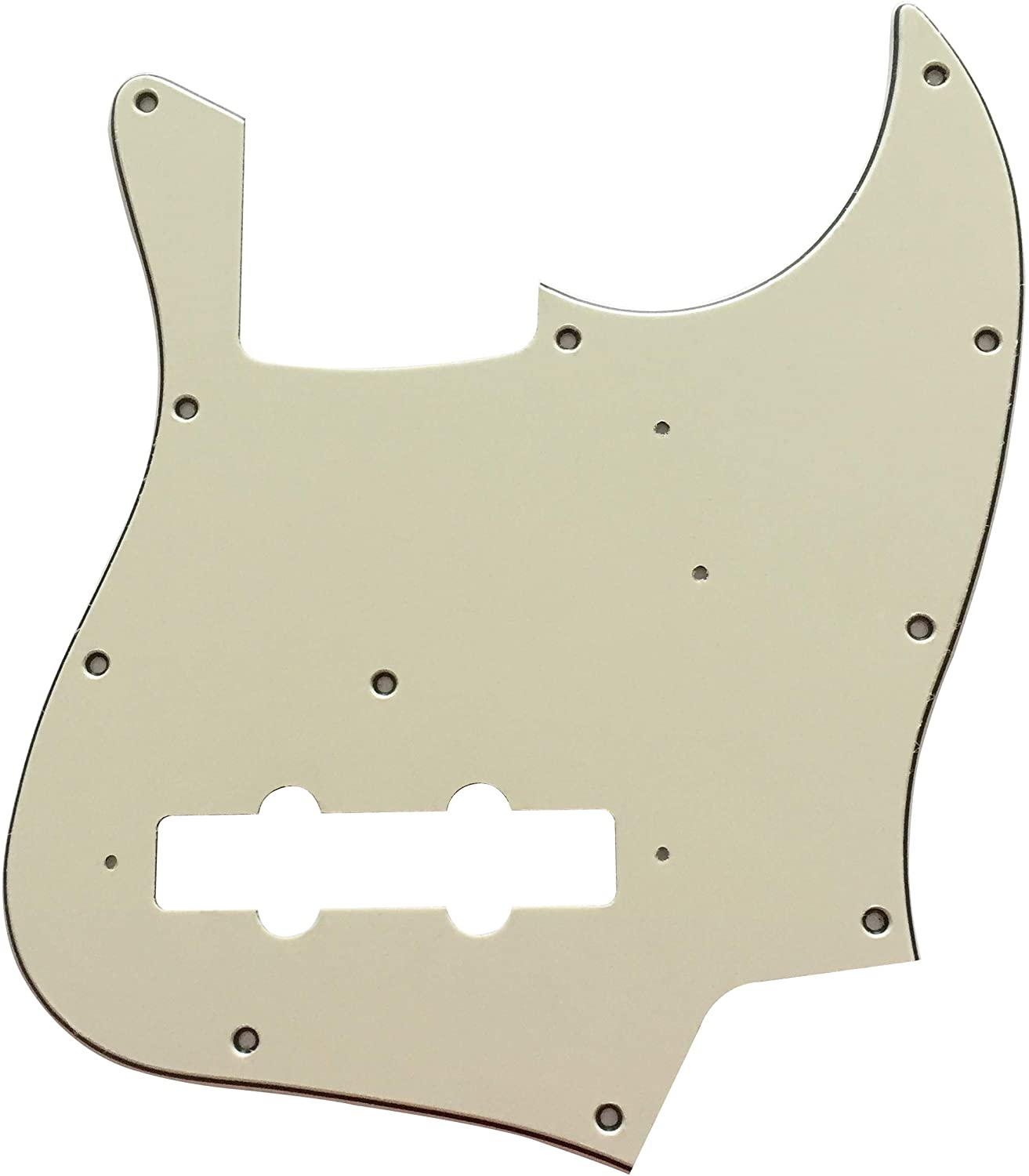 For Fender Japan Jazz Bass Style Guitar Pickguard Scratch Plate (3 Ply Mint Green)