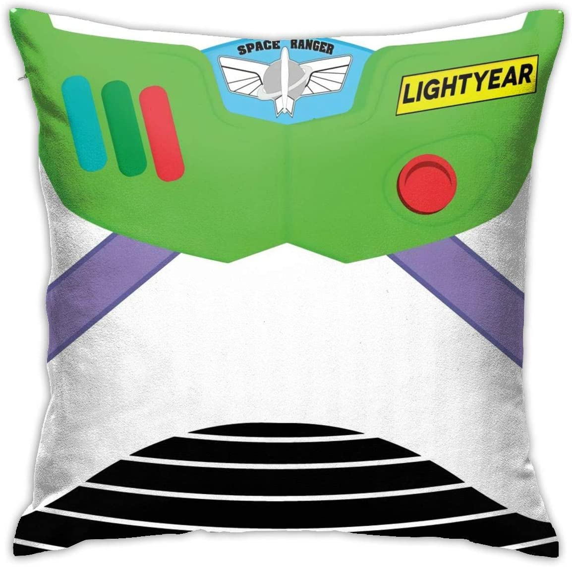 """Bargburm Toy Story Cute Pattern Throw Pillow Covers Cotton Polyester Cushion Cover Cases Pillowcases Sofa Home Decor 18""""X 18""""Inch"""