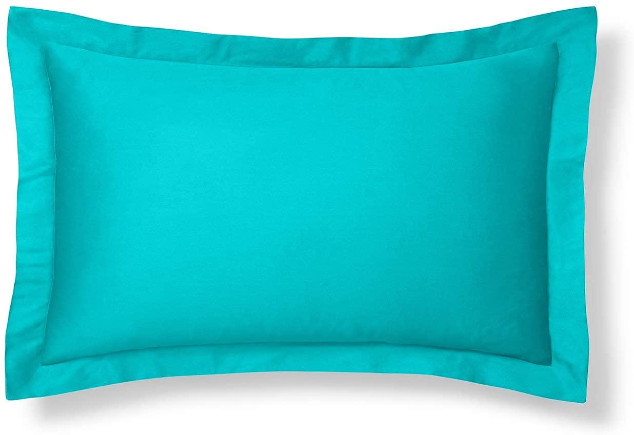 Aqua Pillow Sham, King Size Pillow Sham Decorative Turquoise Pillow Shams Tailored