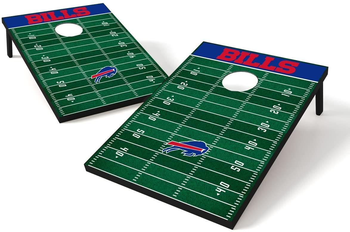 Wild Sports NFL Cornhole Outdoor Game Set, 2' x 3' Foot - Recreational Series