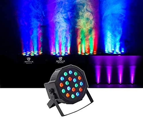 Rockville RockPAR50 Church Stage Performance Design Wash Light Lighting Fixture