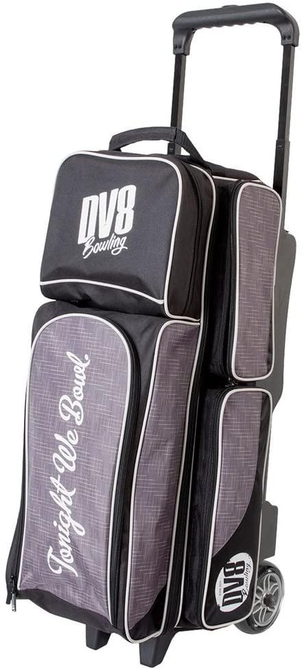 DV8 Circuit Triple Roller Bowling Bag, Grey