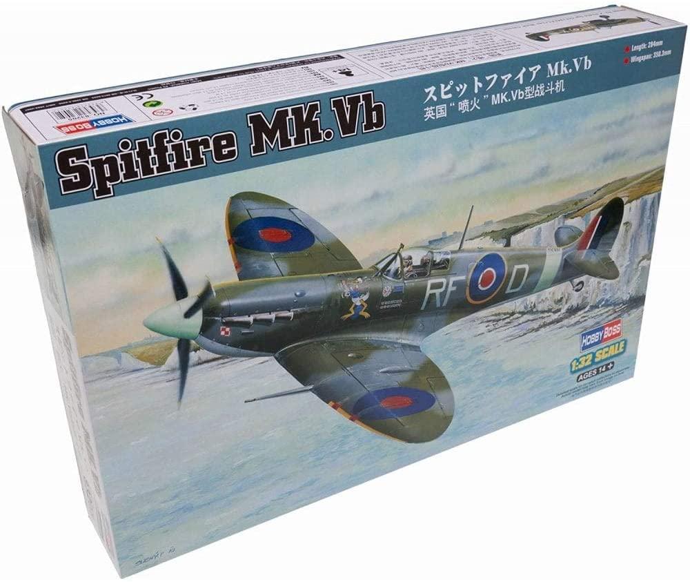 Hobby Boss 1/32 Scale Spitfire MK.Vb - Plastic Model Building Set # 83205