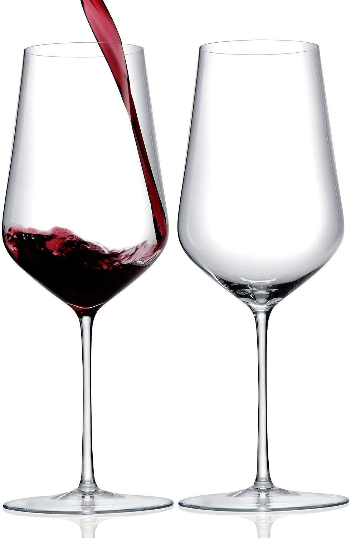 ZENOLOGY by Wine Enthusiast – 23oz Cabernet Sauvignon Stemmed Wine Glasses - Set of 2