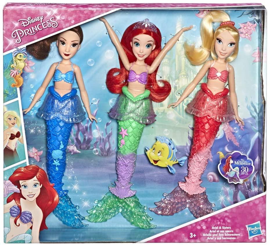 Disney Princess E5052EU5 DPR Ariel and Sisters Storytelling Pack, Multicolour