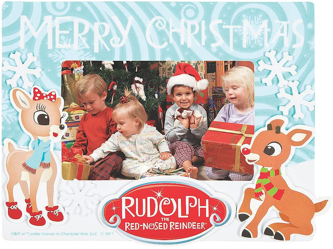 Rudolph Foam Picture Frame Craft Kit -12 - Crafts for Kids and Fun Home Activities