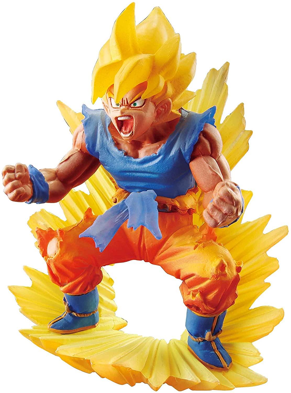 Megahouse Dragon Ball Super: Dracap Memorial Statue 02: Super Saiyan Son Goku PVC Figure