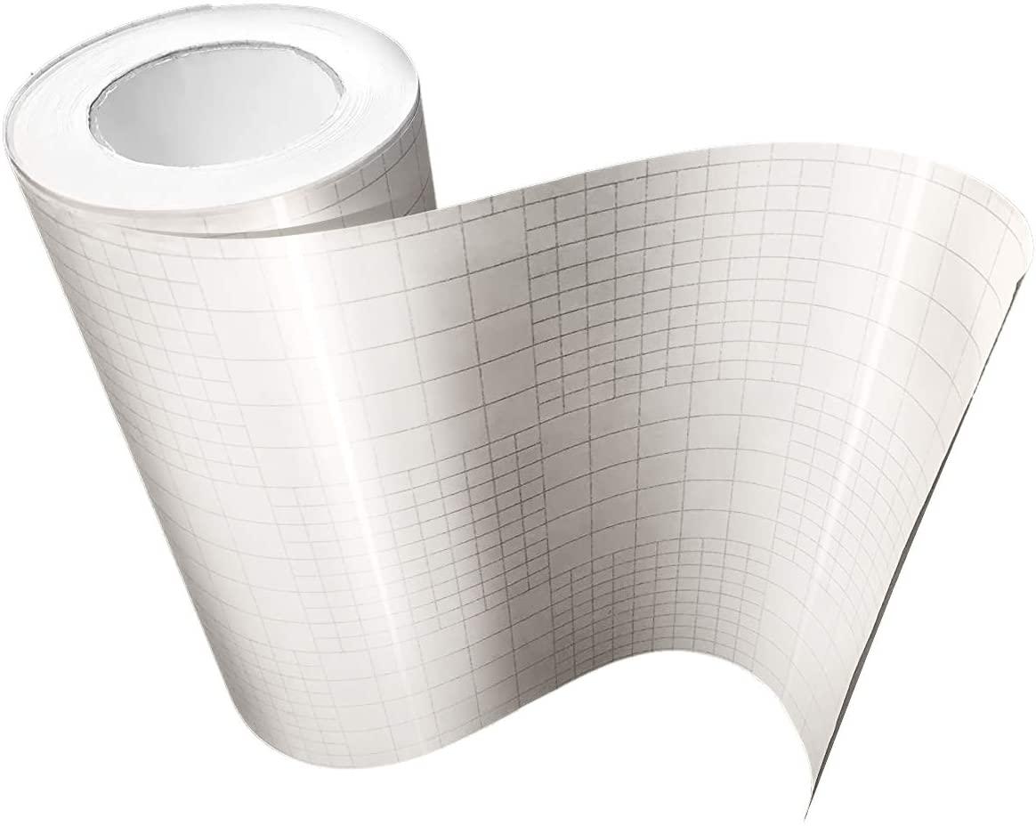 High Gloss Clear Vinyl Transfer Paper Self-Adhesive 12
