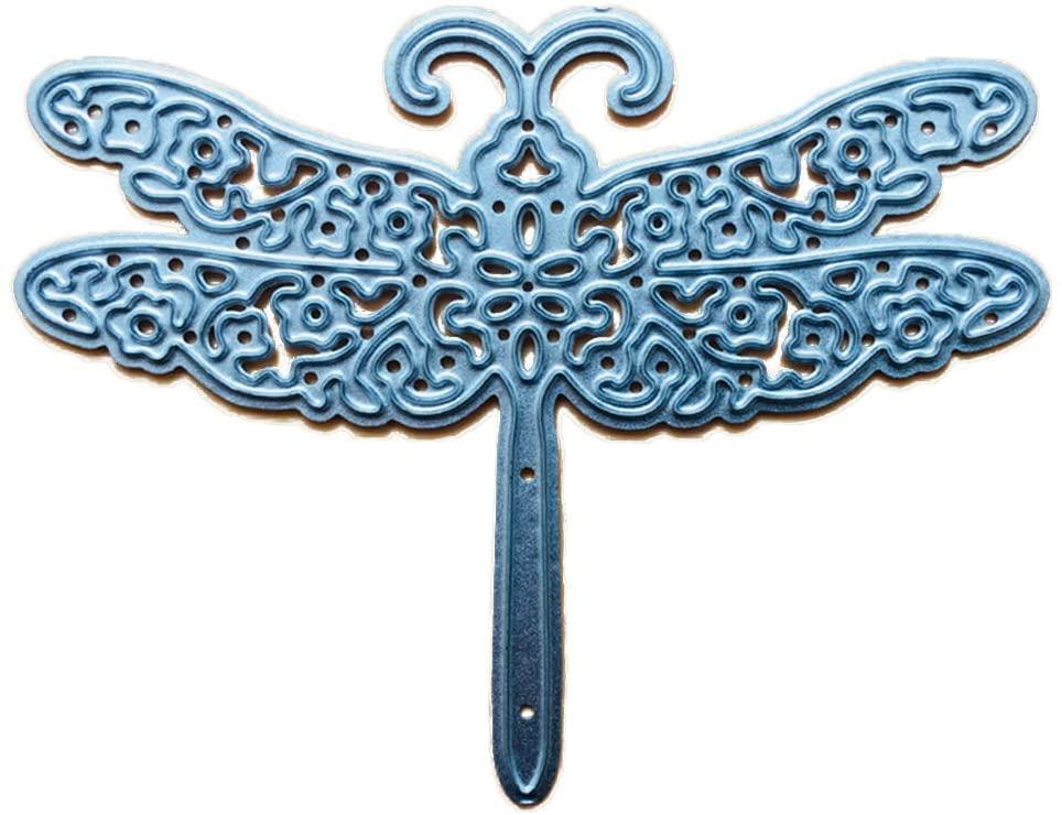 minansostey Dragonfly Metal Cutting Dies,Stencil, Scrapbooking DIY Album Stamp,Paper Emboss