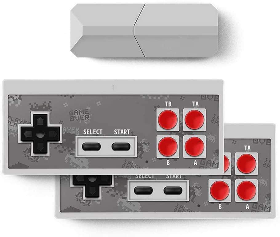 ZABB Retro Game Console - Y2 Pro USB TV Video Game Console Classic 8-bit Mini Game Console Built-in 600 Classic Games