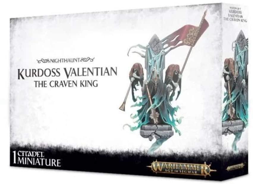 Games Workshop Nighthaunt Kurdoss Valentian The Craven King Warhammer Age of Sigmar