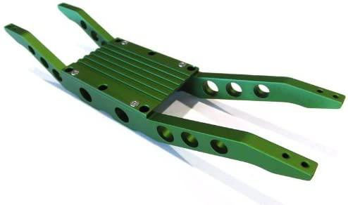 RC Raven E-Maxx 3903 or 3908 Olive Green anodized aluminum bottom braces (set of 2)