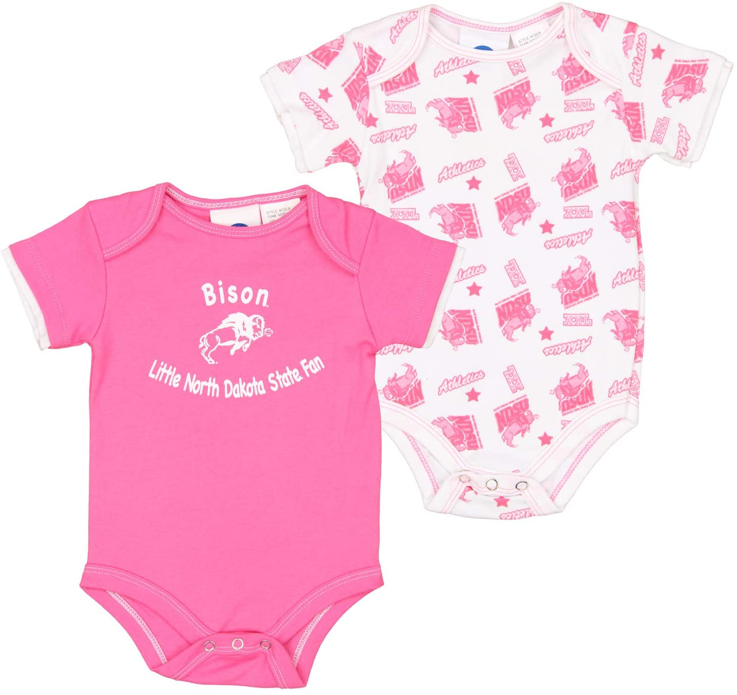 OuterStuff NCAA Baby Number One Fan 2 Pack Onesies