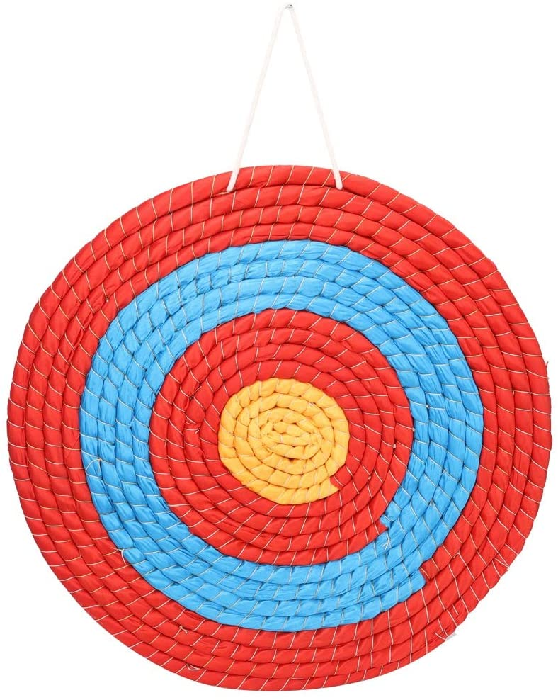 Delaman Archery Target, Outdoor Archery Grass Target Arrow Darts Targets Props Sports Bow Hunting Shooting Accessories 1PC