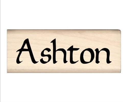 Stamps by Impression Ashton Name Rubber Stamp