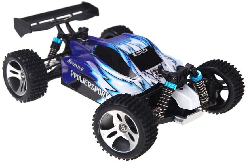 Wltoys A959 1/18 Scale 2.4G 4WD RTR Off-Road Buggy RC Car