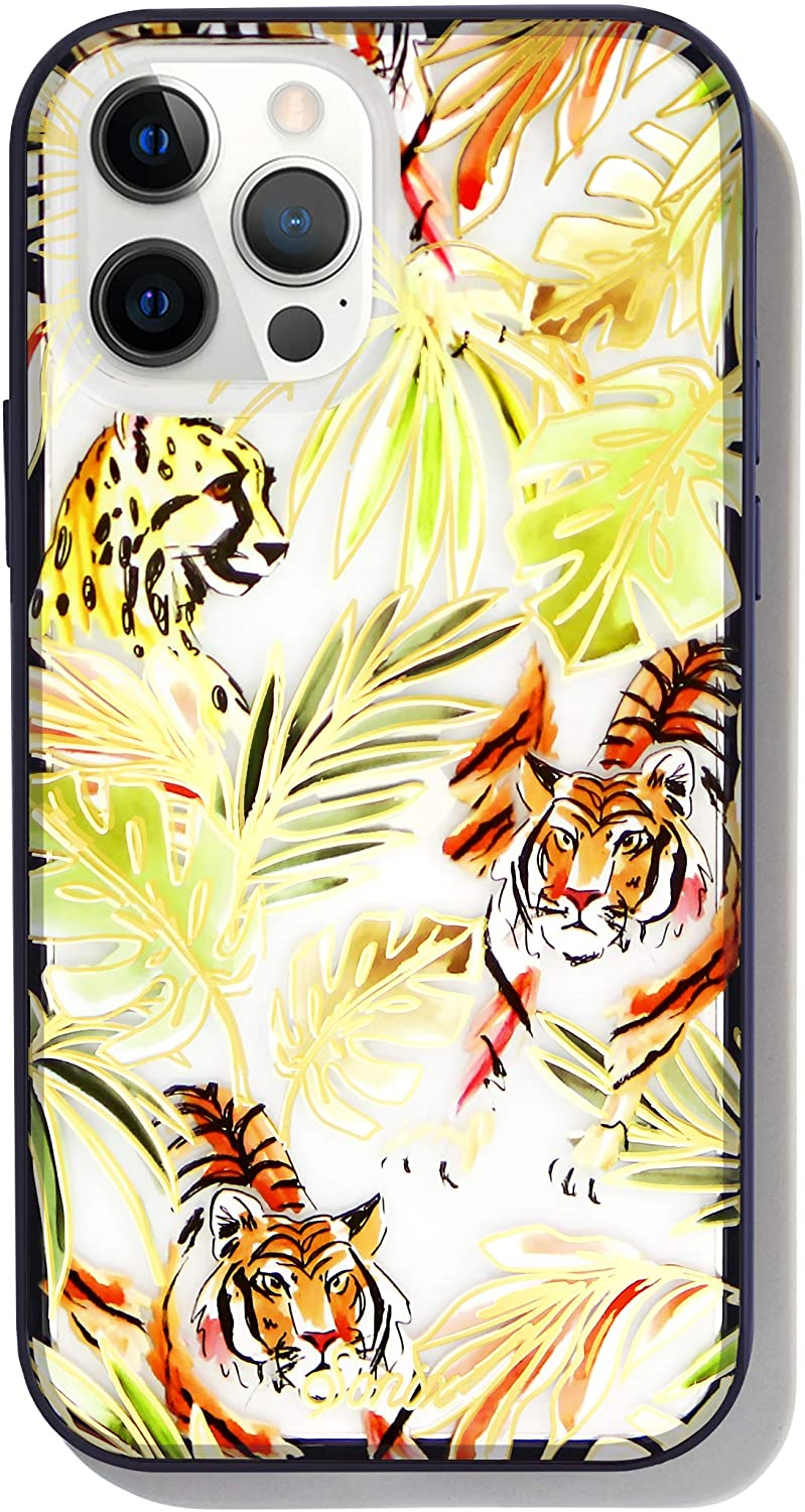 Sonix Cool Cats Case for iPhone 12ProMax [10ft Drop Tested] Women's Protective Leopard, Cheetah, Tiger Clear Cover for Apple iPhone 12 Pro Max