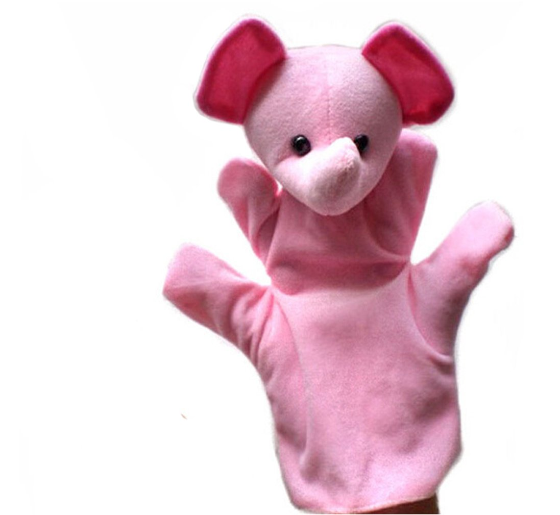 Luoke Hand Pcs Educational Puppets Story Time Finger Puppets Animals Fun Express Preschool Kindergarten Puppets Kids Toy (Color 5)