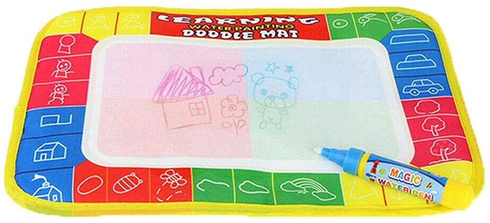 Drummond Doodle Mat, Water Drawing Painting Writing Mat Board Magic Pen Doodle Gift 29 x 19cm