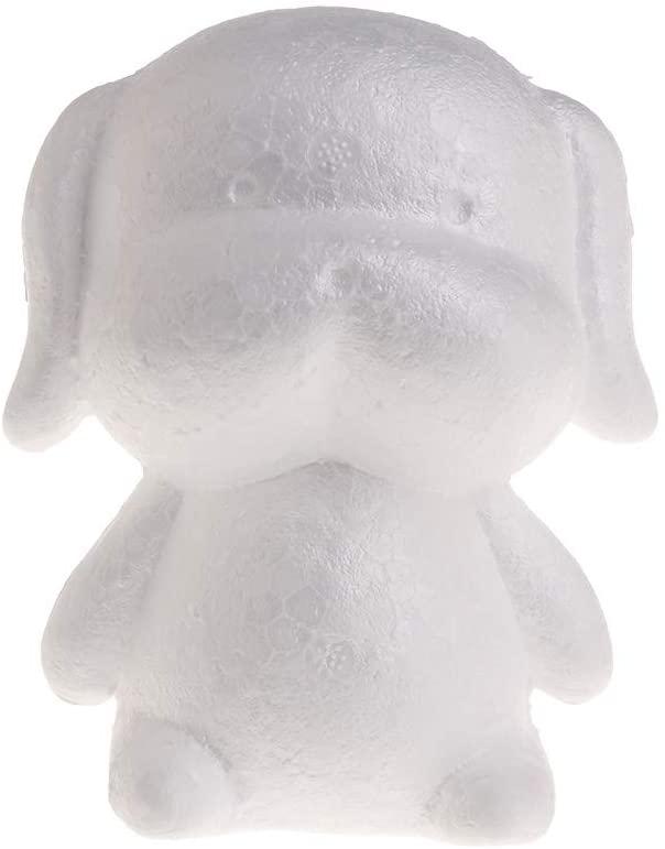 chefensty Modeling Dog White Polystyrene Foam Balls Styrofoam Crafts For DIY Christmas Gifts Wedding Party Supplies Decoration