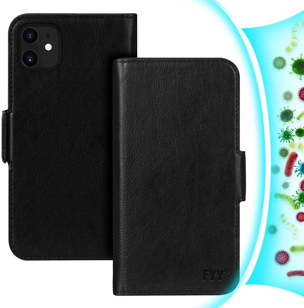 FYY [Resist Harmful Organism] [RFID Blocking] Case for iPhone 12 Mini 5G 5.4