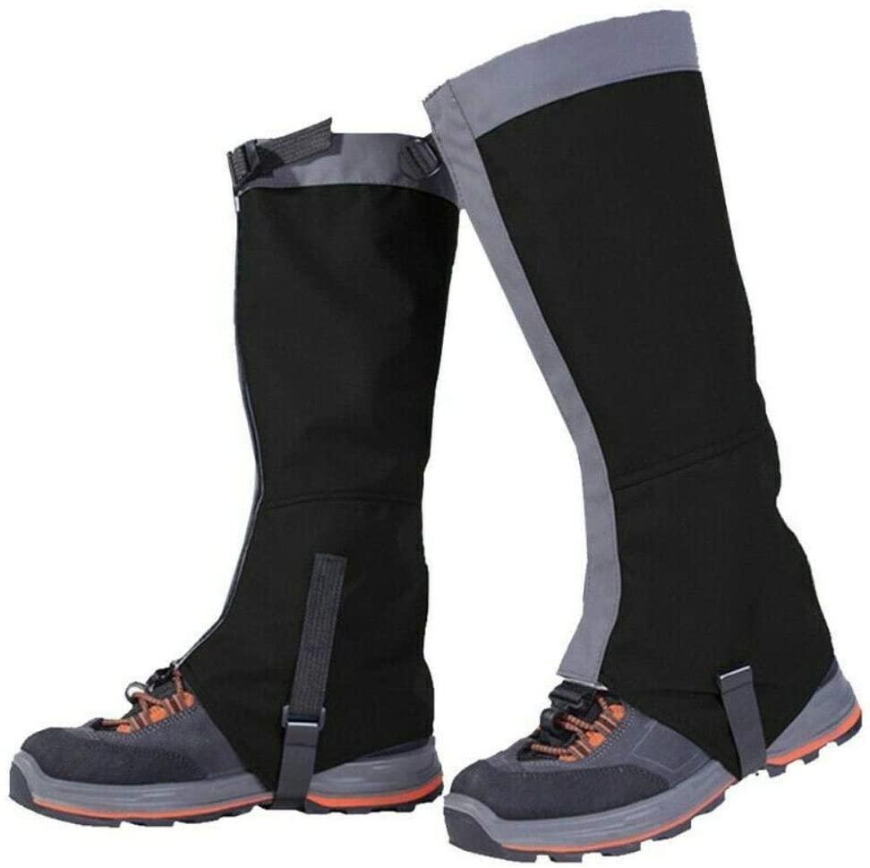 hiXi Leg Gaiters, Snow Kneepad Skiing Gaiters Hiking Climbing Leg Protection Waterproof Leg Warmer