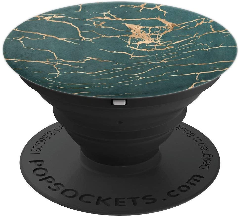 Unique Modern & Trendy Green Pattern PACJ0342 PopSockets Grip and Stand for Phones and Tablets