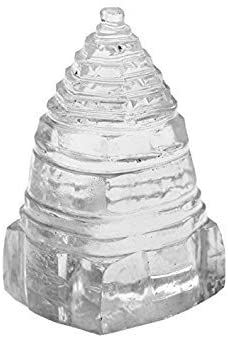 Jet Shree Yantra Crystal Quartz Sphatik Pious Auspicious Energized Vastu Doshas Holy India Divine Pooja Puja God Idol Wealth Prosperity Laxmiji Booklet Jet International Image is JUST A Reference