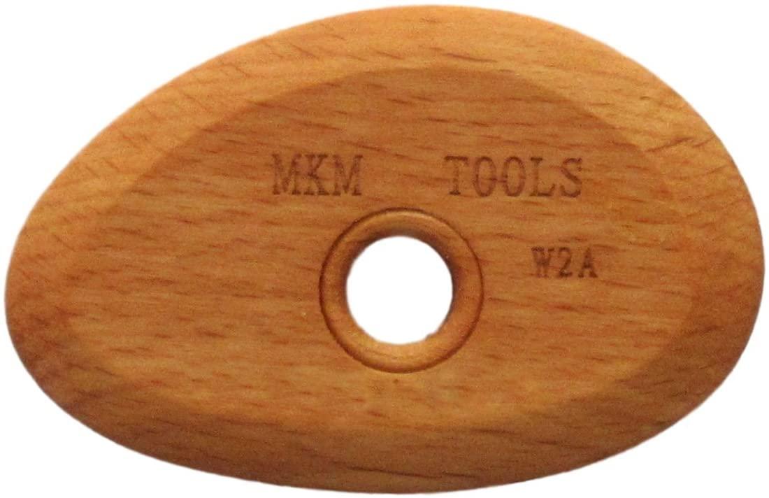 MKM Pottery Tools Craftsman Series Wood Rib (W2a)
