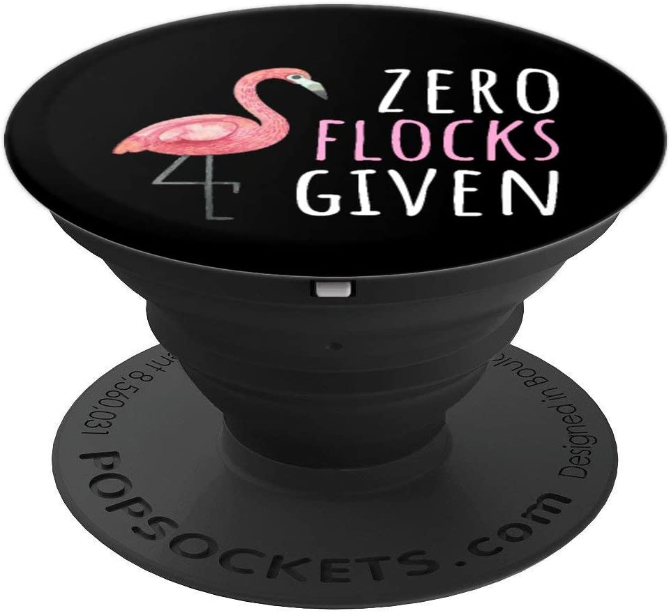Flamingo Lover - Zero Flocks Given PopSockets Grip and Stand for Phones and Tablets