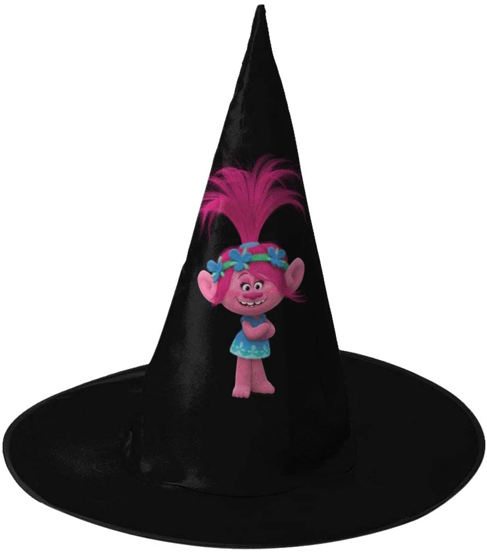 Trolls World Tour King Trollex Adult Unisex Halloween Witch Hat Made Oxford Cloth Soft Comfortable