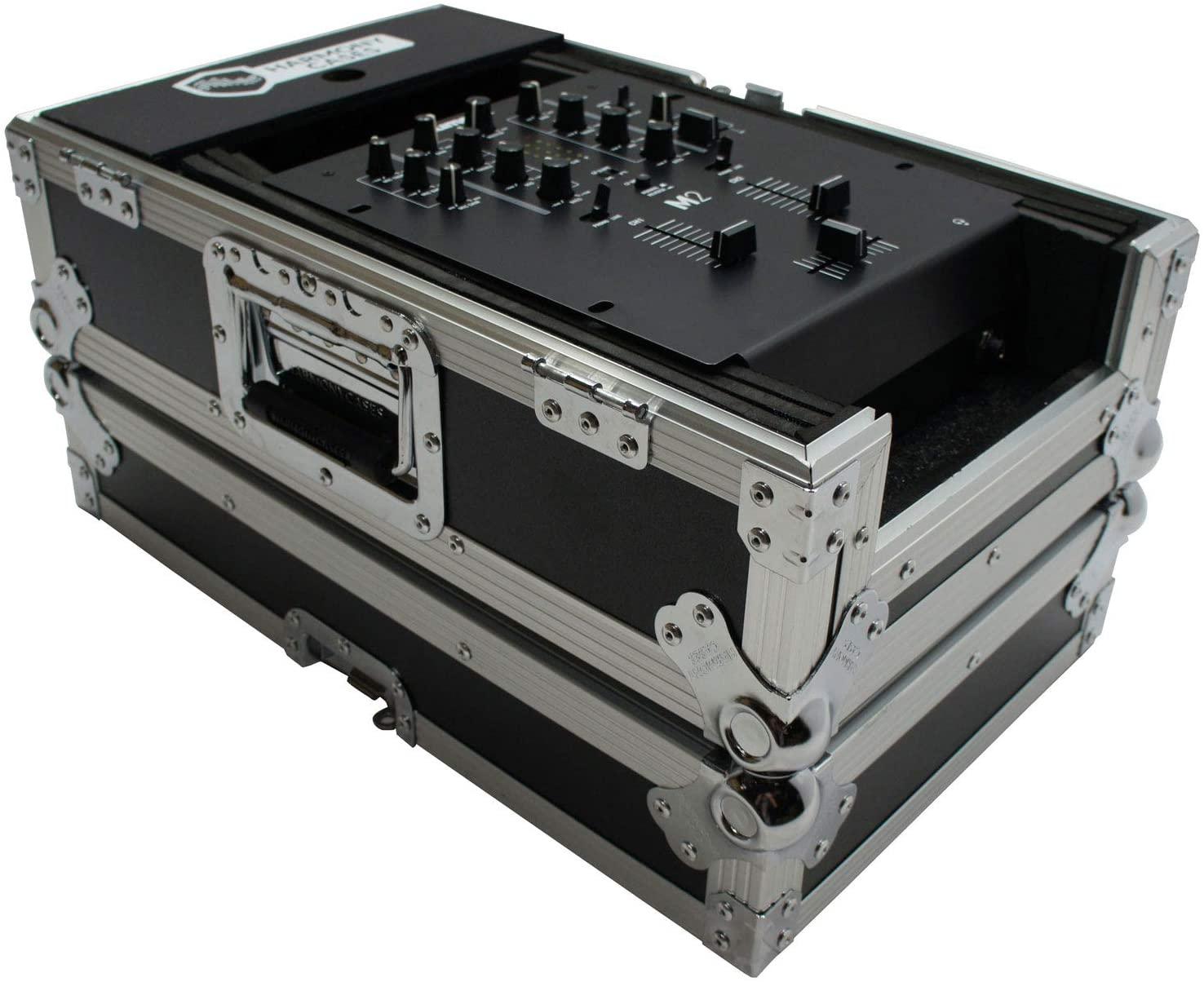 Harmony Cases HC10MIX Flight DJ Road Travel 10 Mixer Custom Case Compatible with Rane 62
