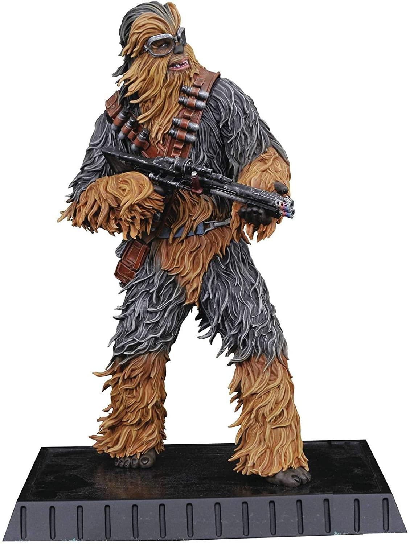 DIAMOND SELECT TOYS Star Wars Milestones: Chewbacca (Solo Version) 1: 6 Scale Resin Statue, Multicolor