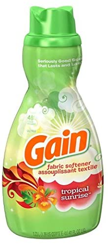 Gain Tropical Sunrise Fabric Softener, 41 Ounce