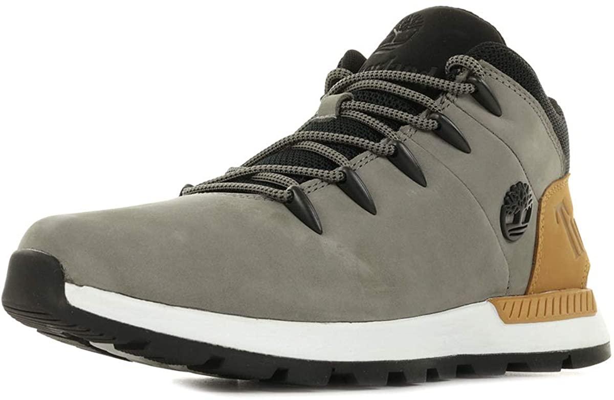 Timberland Men's Trekking Shoes, Grey, Womens 10