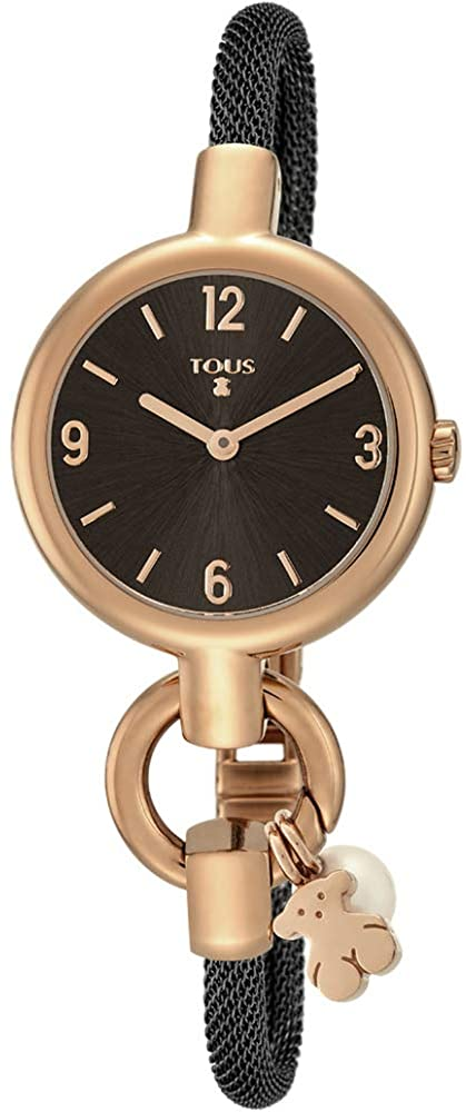 TOUS Hold Charms IPRG/IPBLACK 800350865 Women's Watch