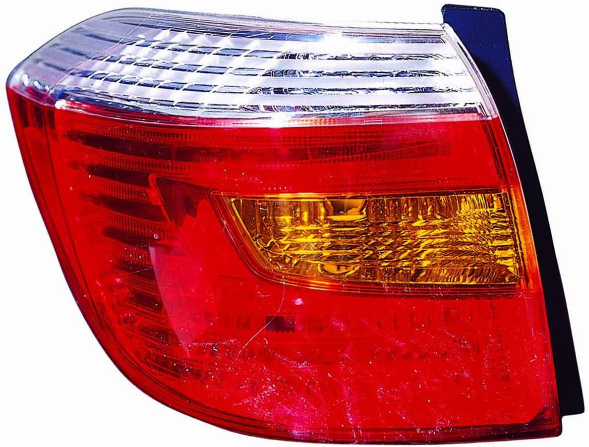 DEPO 312-1988L-US Replacement Driver Side Tail Light Assembly (This product is an aftermarket product. It is not created or sold by the OE car company)