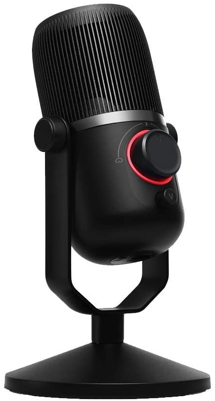 Thronmax MDrill Zero Plus USB Microphone, Jet Black
